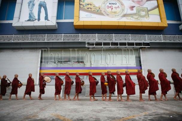 Myanmar Buddhist Monk