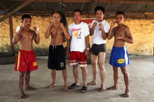 Thet Htoo with Boxer2